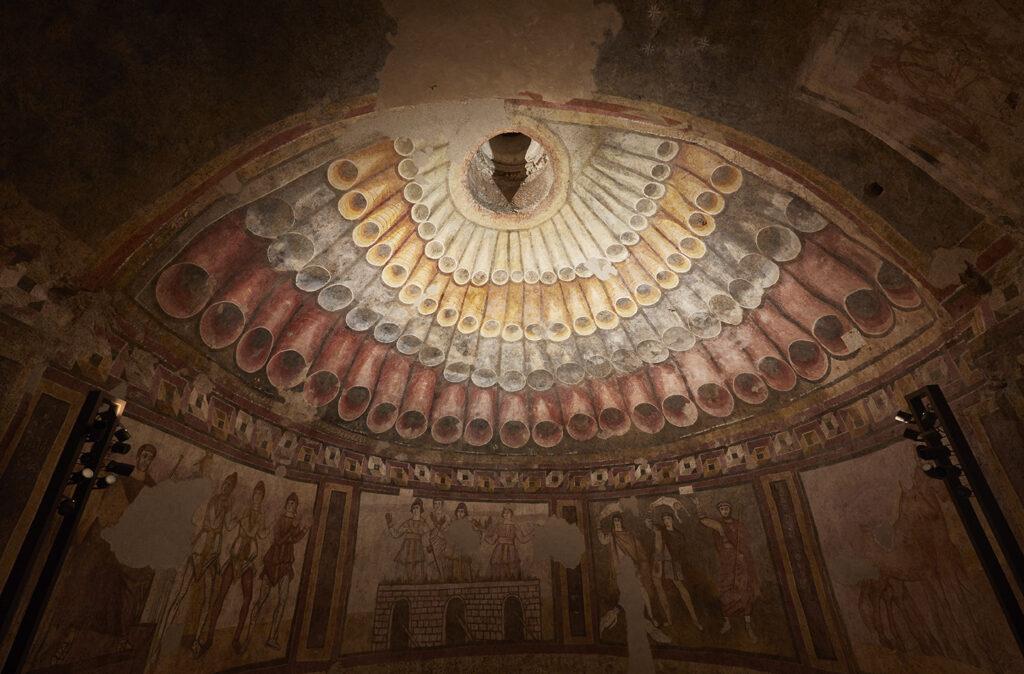Volta ipogeo Santa Maria in Stelle Verona