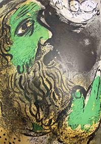 Chagall. La Bibbia