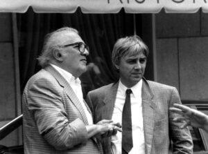 Federico Fellini e Milo Manara