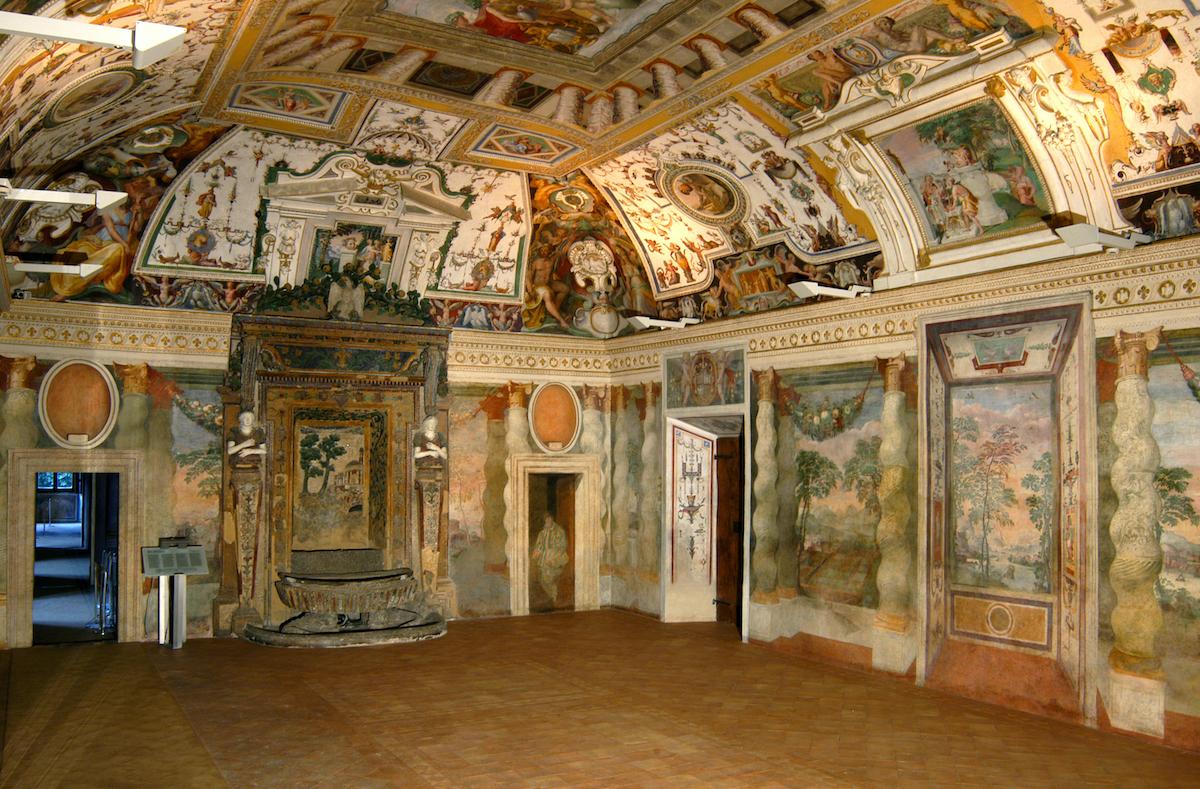 Villa d'Este - Sala della Fontana di Tivoli