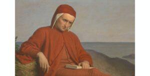 Dante in esilio - Domenico Petarlini (1822-1897) Palazzo Pitti, Firenze