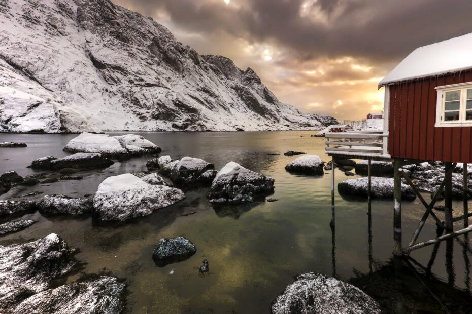 il rorbu lofoten norvegia