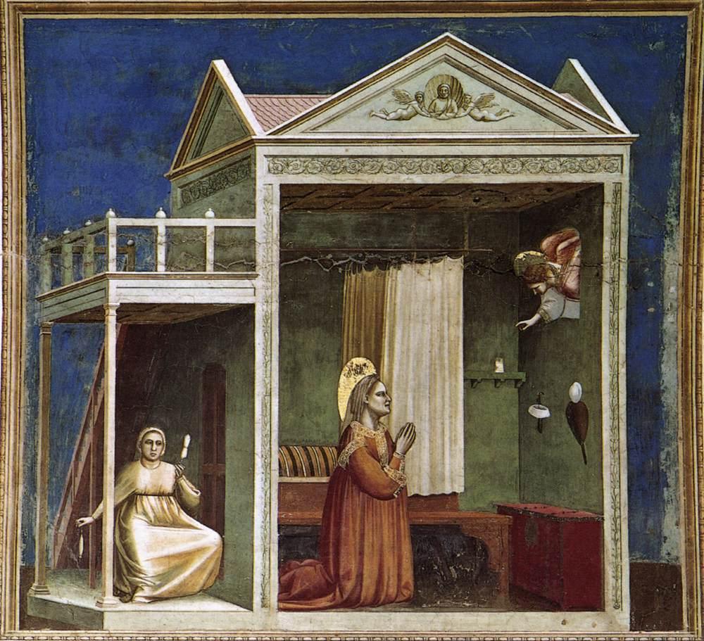 Annuncio a Sant'Anna - Cappella degli Scrovegni