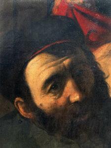 Dettaglio (Ponzio Pilato) dell'Ecce homo di Madrid