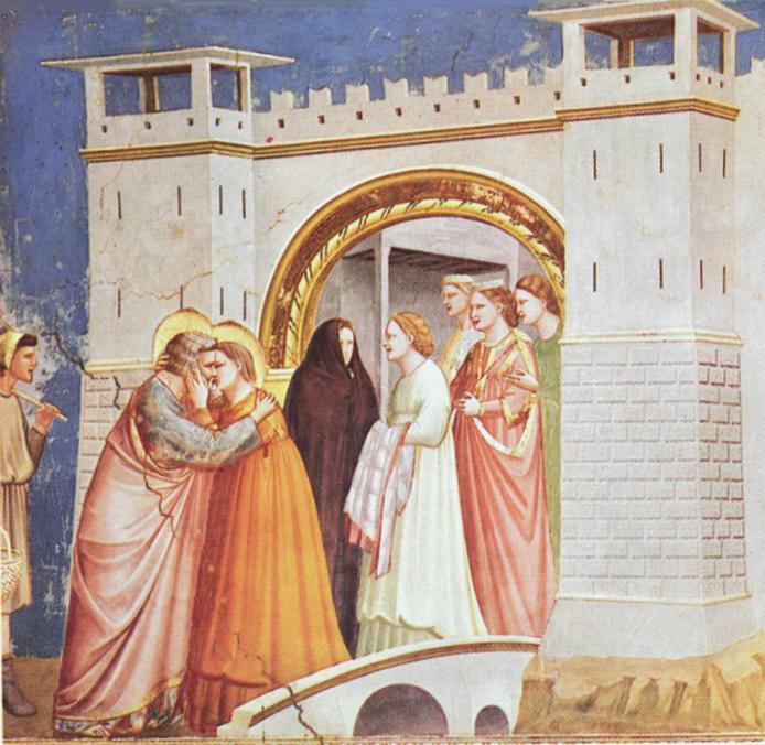 Incontro di Anna e Gioacchin alla Porta d'oro - Cappella degli Scrovegni