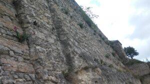 Mura del castello di Catanzaro
