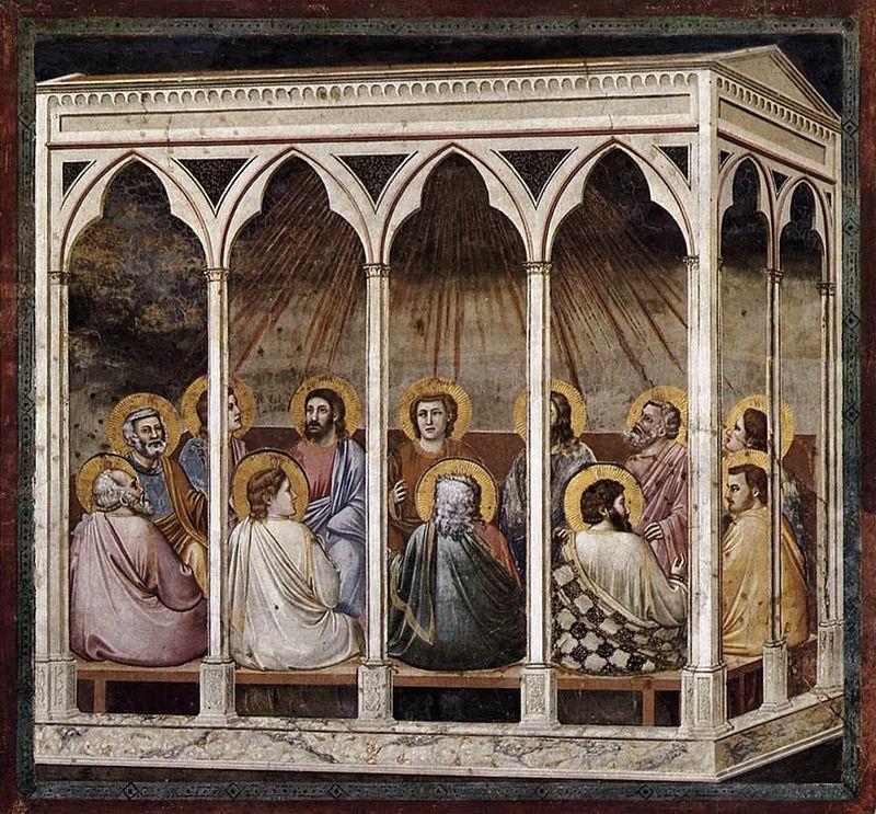 Pentecoste - Cappella degli Scrovegni