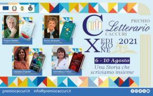 X edizione del premio letterario caccuri, 2021
