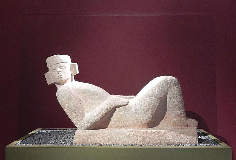 Chac-Mool - 800-900 d.C. - collezione del Museo Yucateco de Antropologia e Historia, Mérida