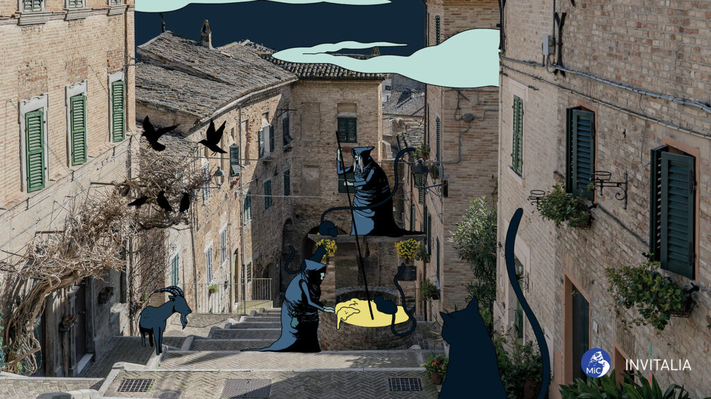 Corinaldo (AN) - Illustrazione di Federico Tramonte