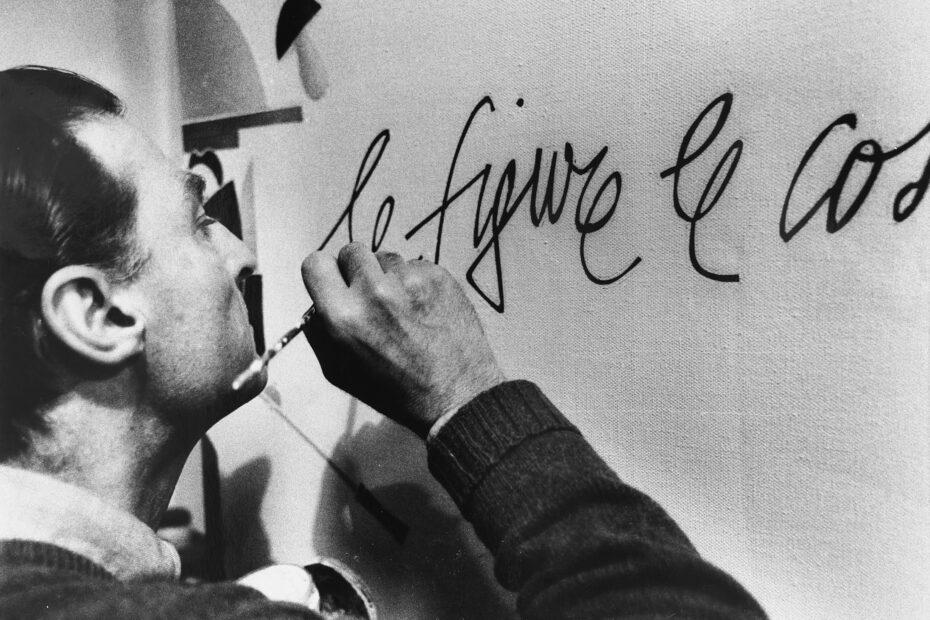 Emilio Tadini (Fotografia di Maria Mulas, 1984)
