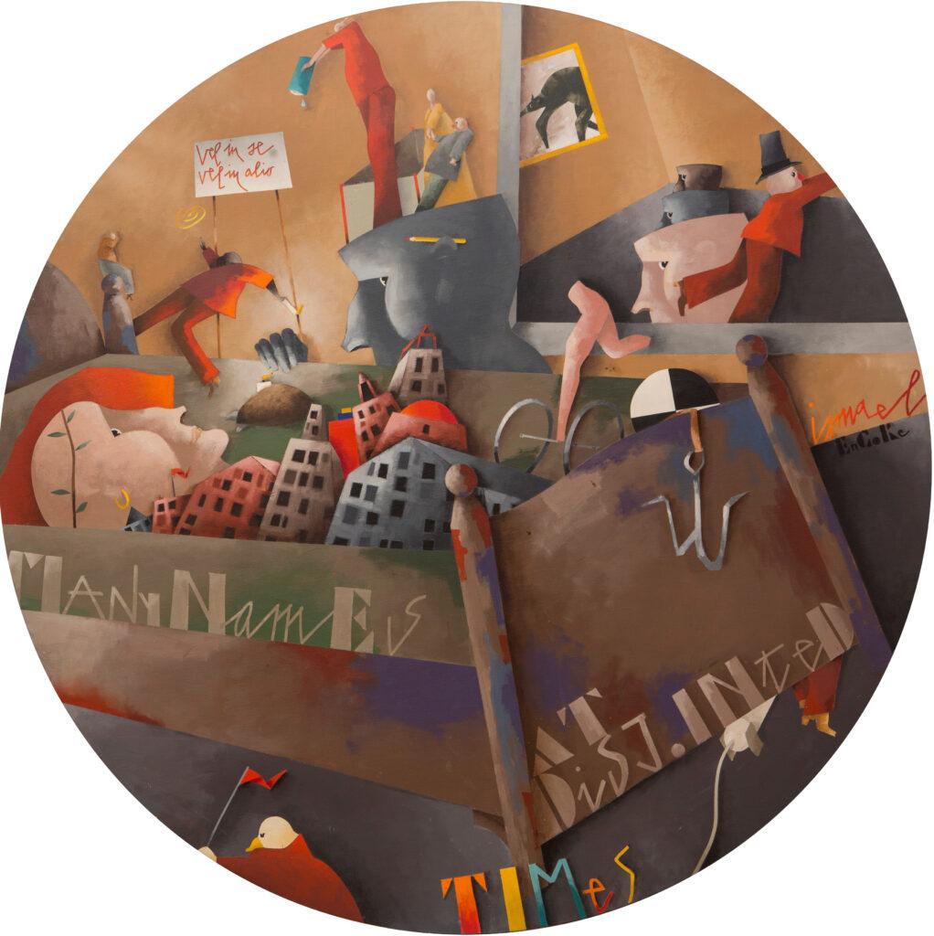 Emilio Tadini, La camera da letto, 1993