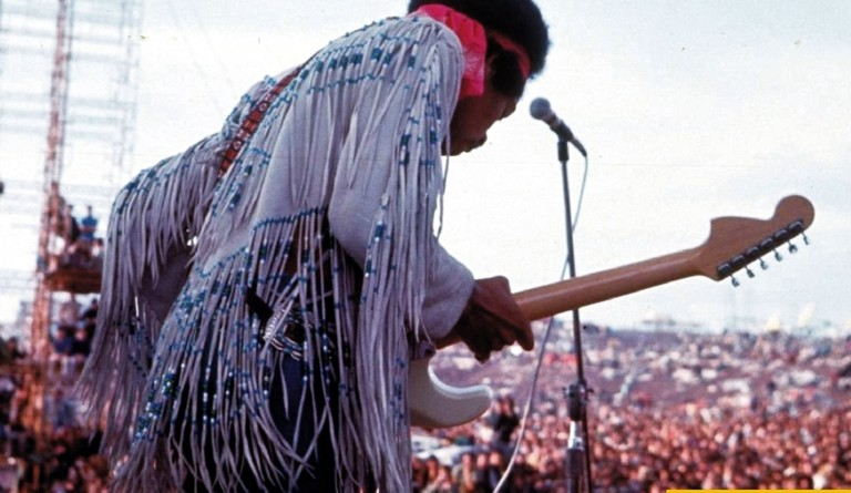 Jimi Hendrix a Woodstock, 1969