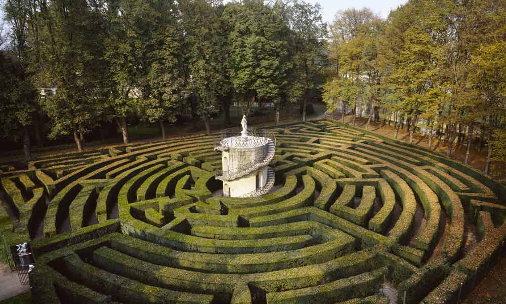 Labirinto di Villa Pisani - © villapisani.beniculturali.it