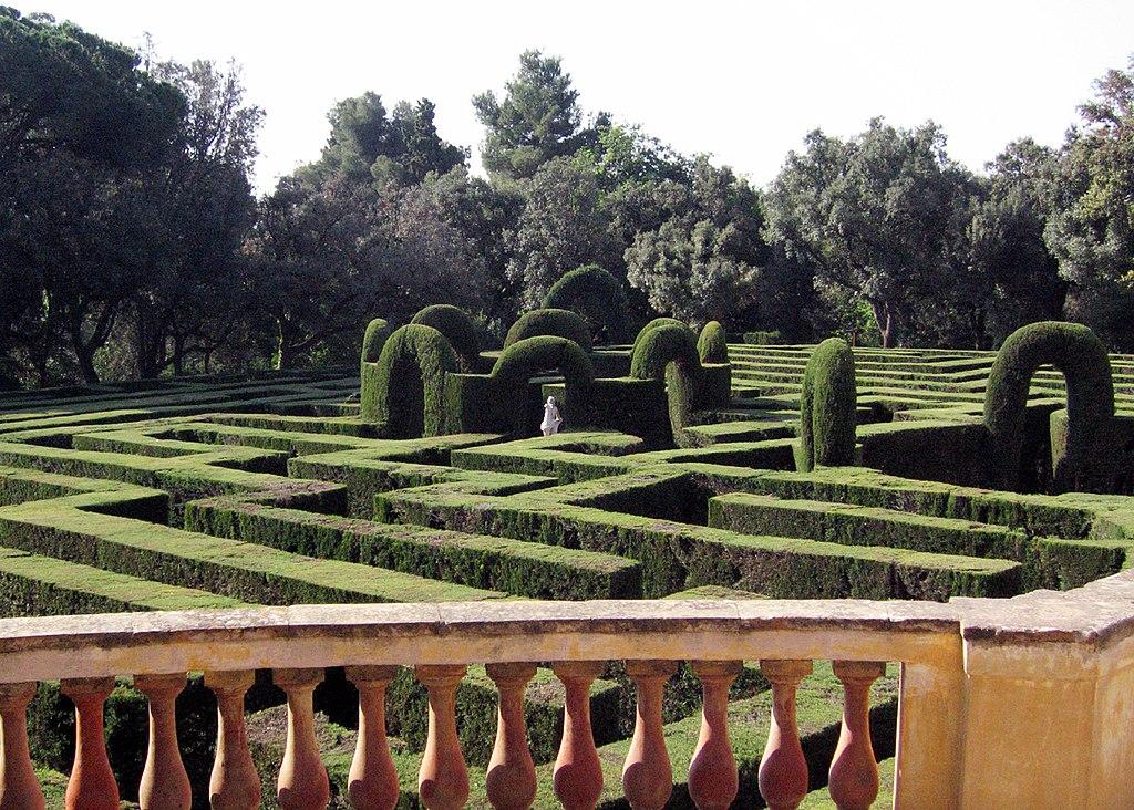 Parc del Laberint d'Horta, Barcellona, Spagna