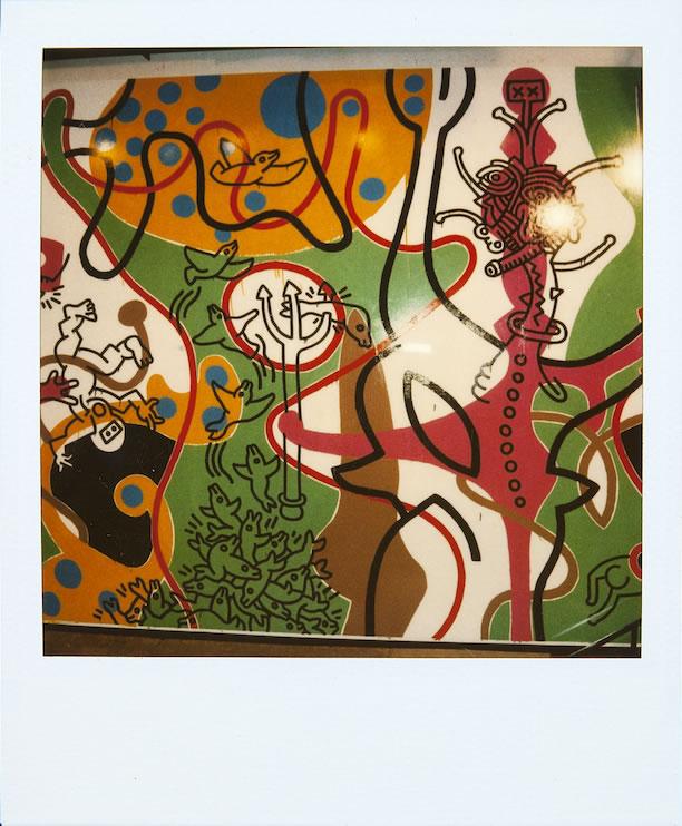 Pasadena, school mural - Foto Archivi della Fondazione Keith Haring